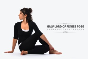 Half Lord of fishes Pose