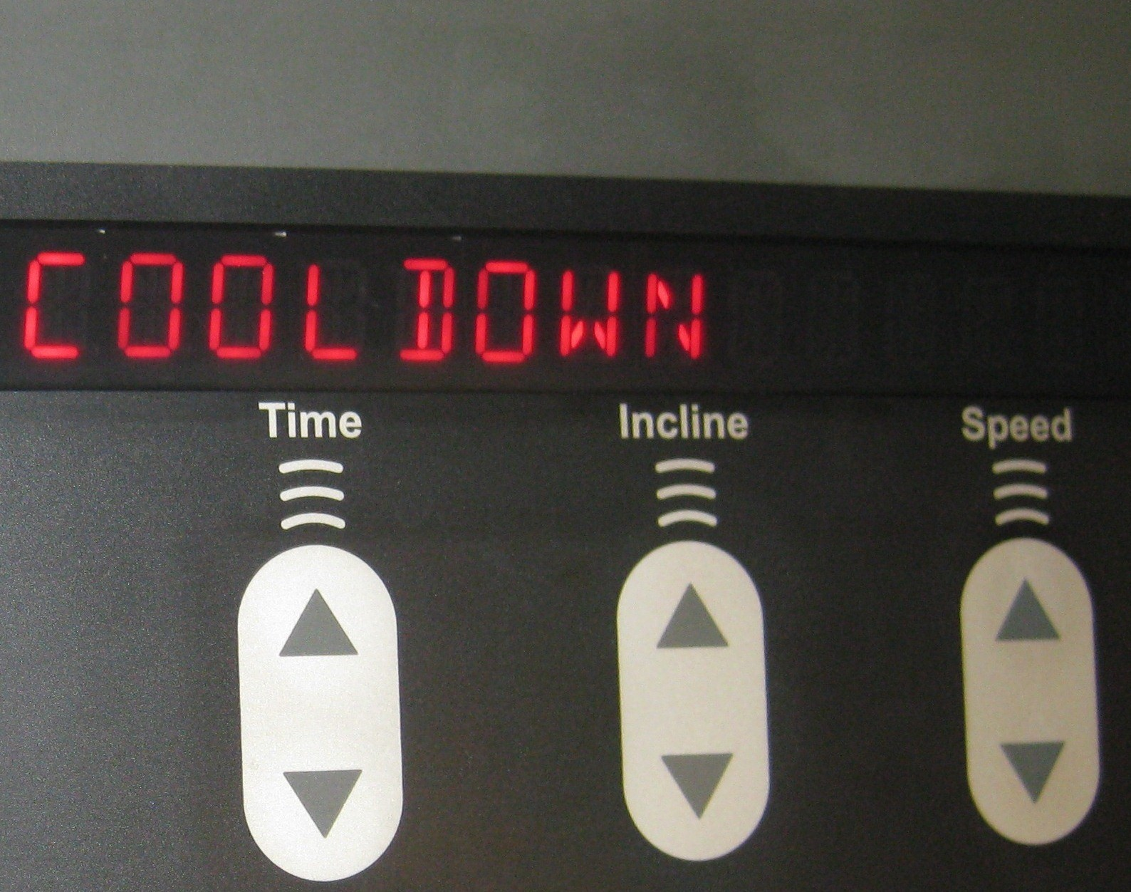 Cool Down on the Treadmill